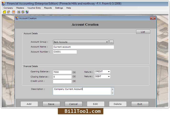 Windows 7 Enterprise Accounting Software 3.0.1.5 full